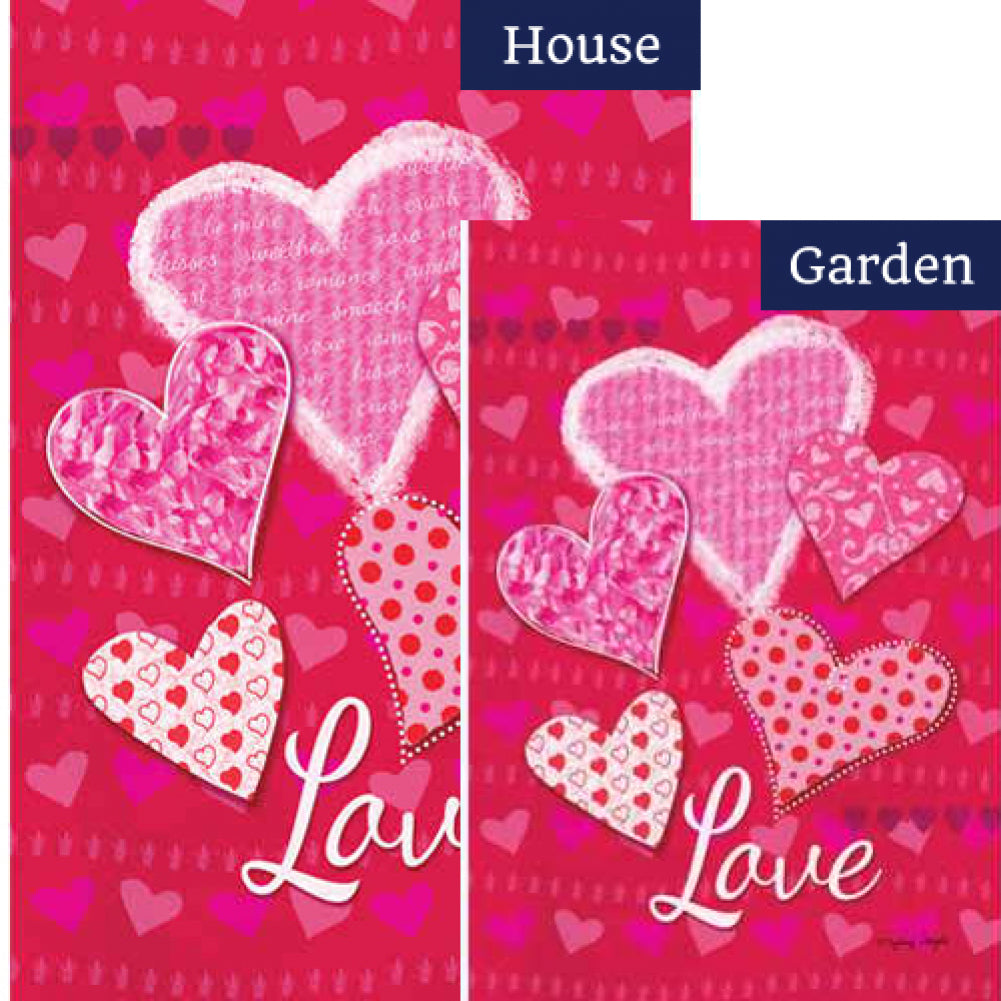 Whole Lotta Love Flags Set (2 Pieces)