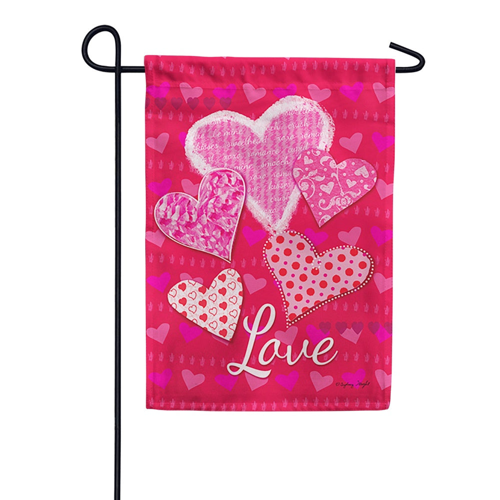 Whole Lotta Love Garden Flag