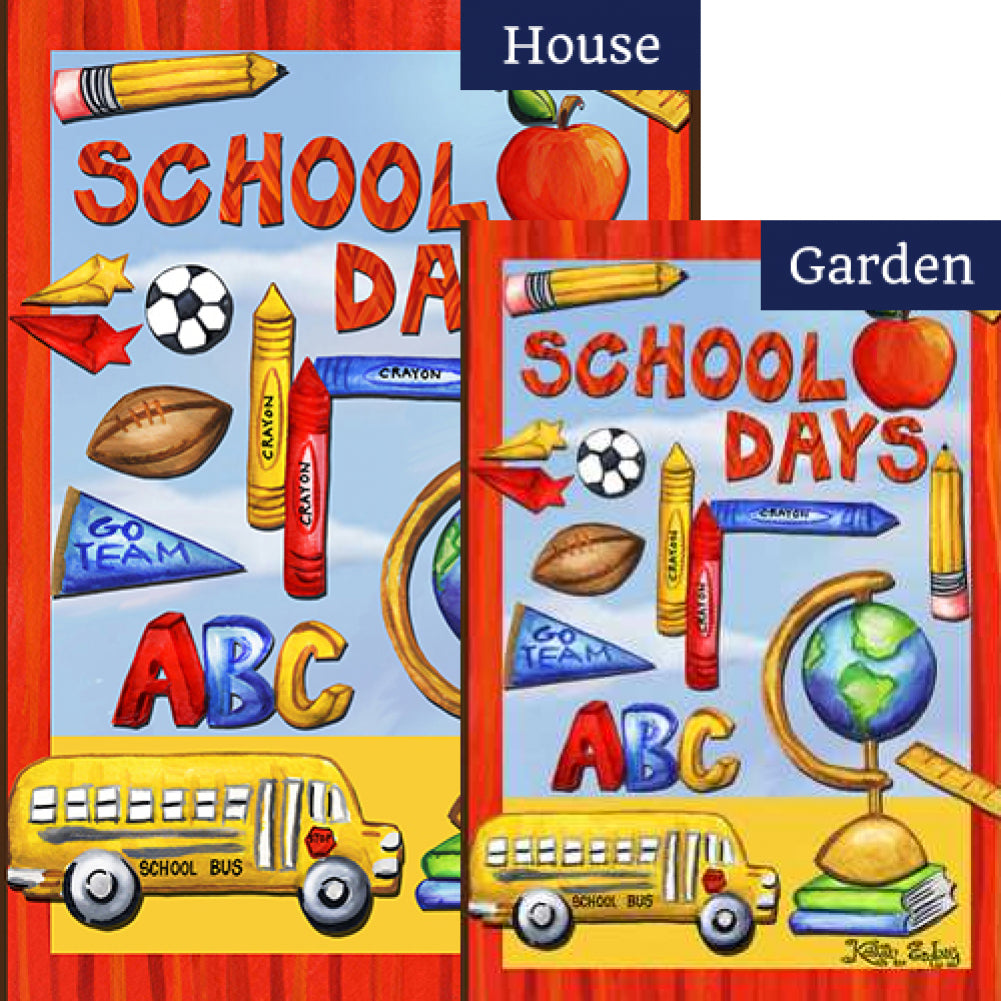 Classroom Collage Flags Set (2 Pieces)