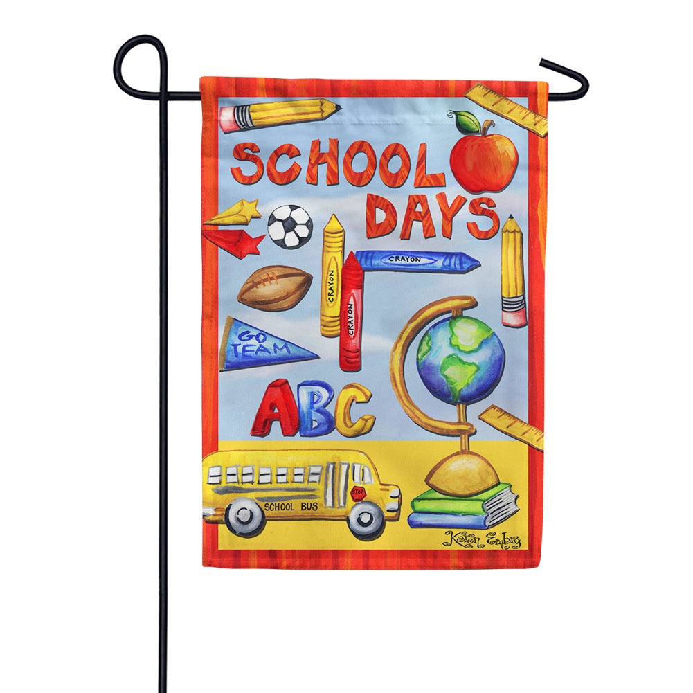 Classroom Collage Garden Flag