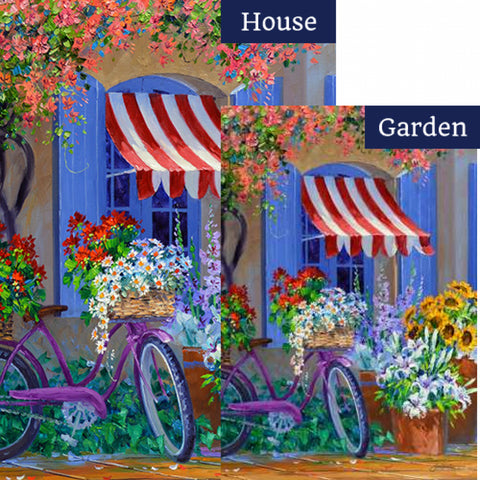 Bloomin' Bike Flags Set (2 Pieces)
