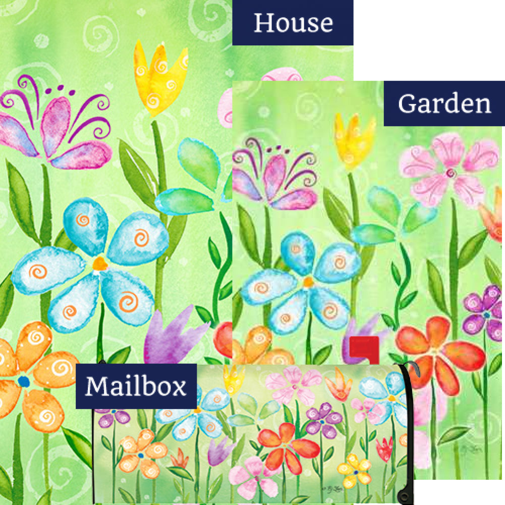 Spring Blooms Yard Makeover Set (3 Pieces)