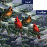 Cardinal Pair Flags Set (2 Pieces)