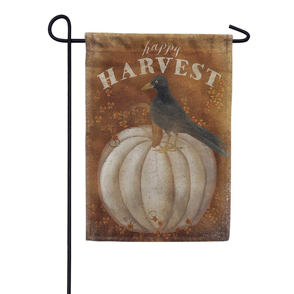 Toland Happy Harvest Garden Flag Flagsrus Org