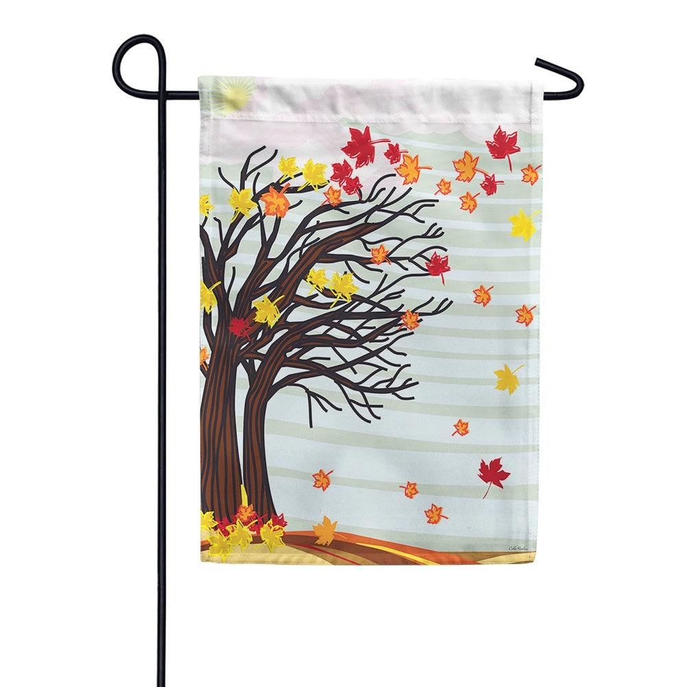 Autumn Winds Garden Flag