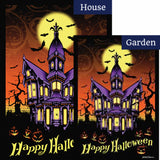 Halloween Manor Flags Set (2 Pieces)