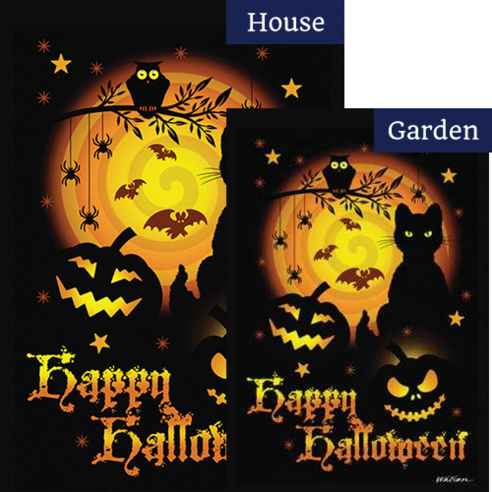 Scary Halloween Flags Set (2 Pieces)