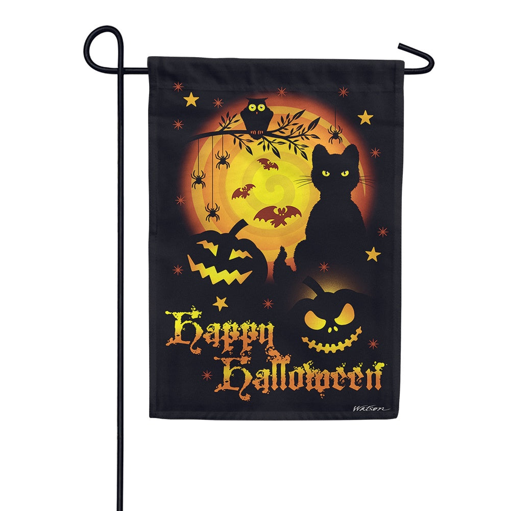 Scary Halloween Garden Flag