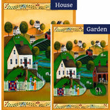 Country Neighbors Flags Set (2 Pieces)