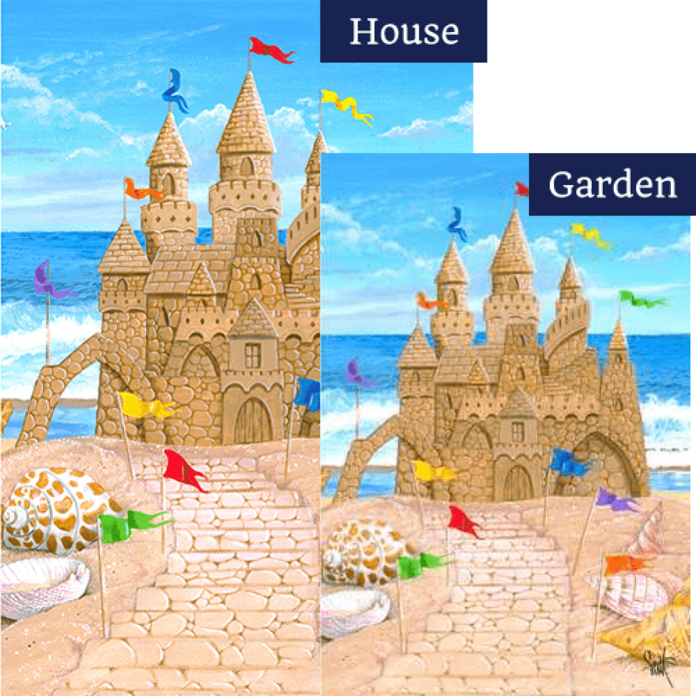Sandy Castle Flags Set (2 Pieces)