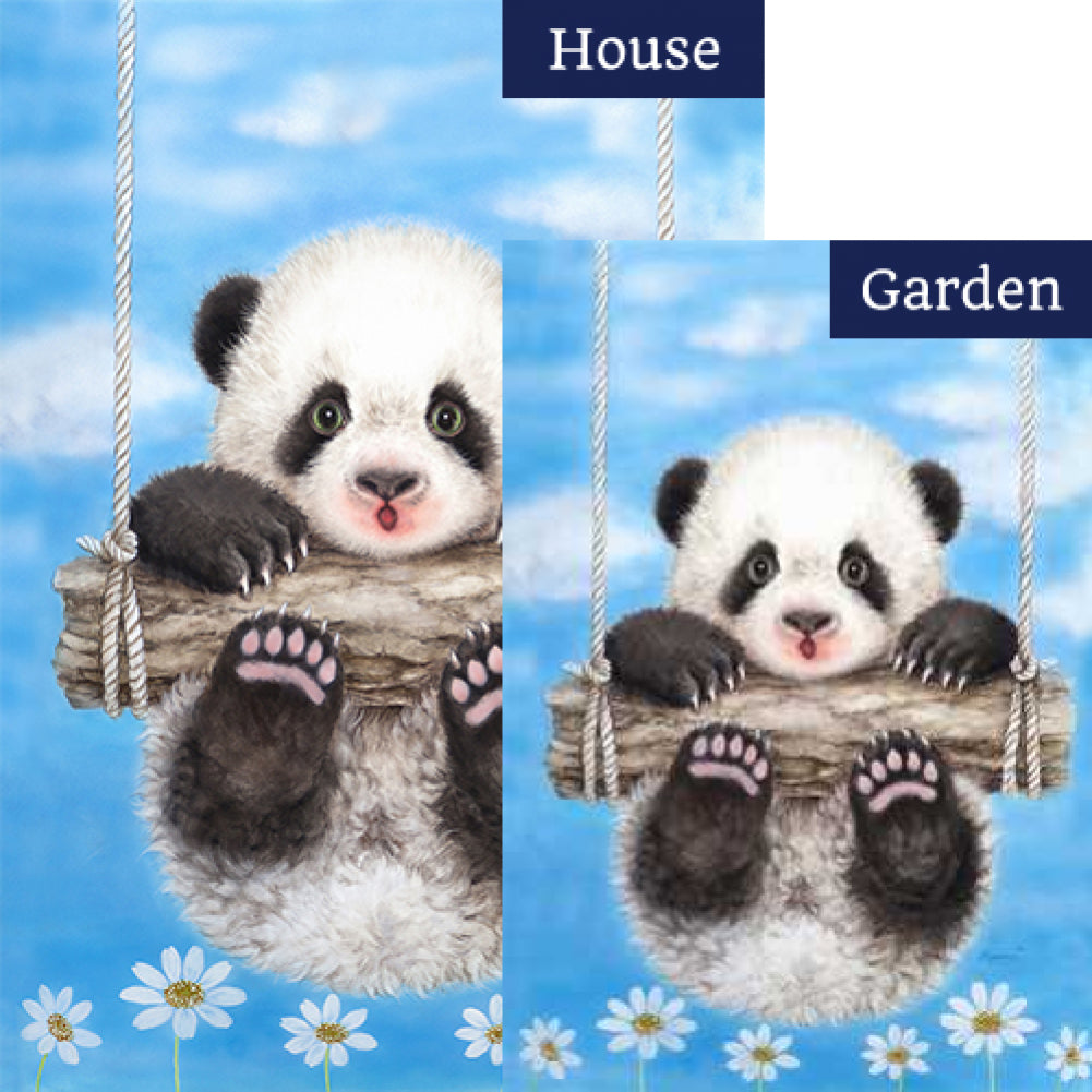 Panda Playtime Flags Set (2 Pieces)