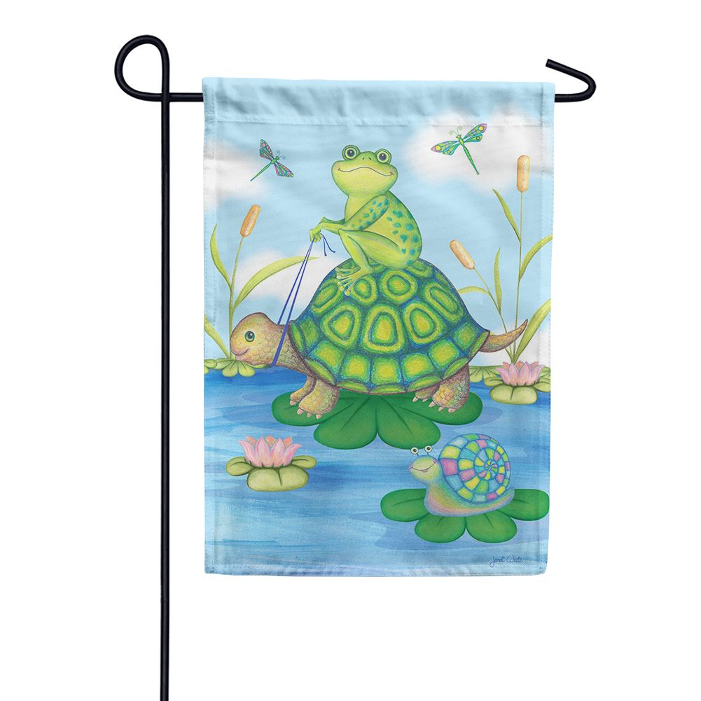 Pond Pals Garden Flag