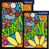 Groovy Spring Flags Set (2 Pieces)