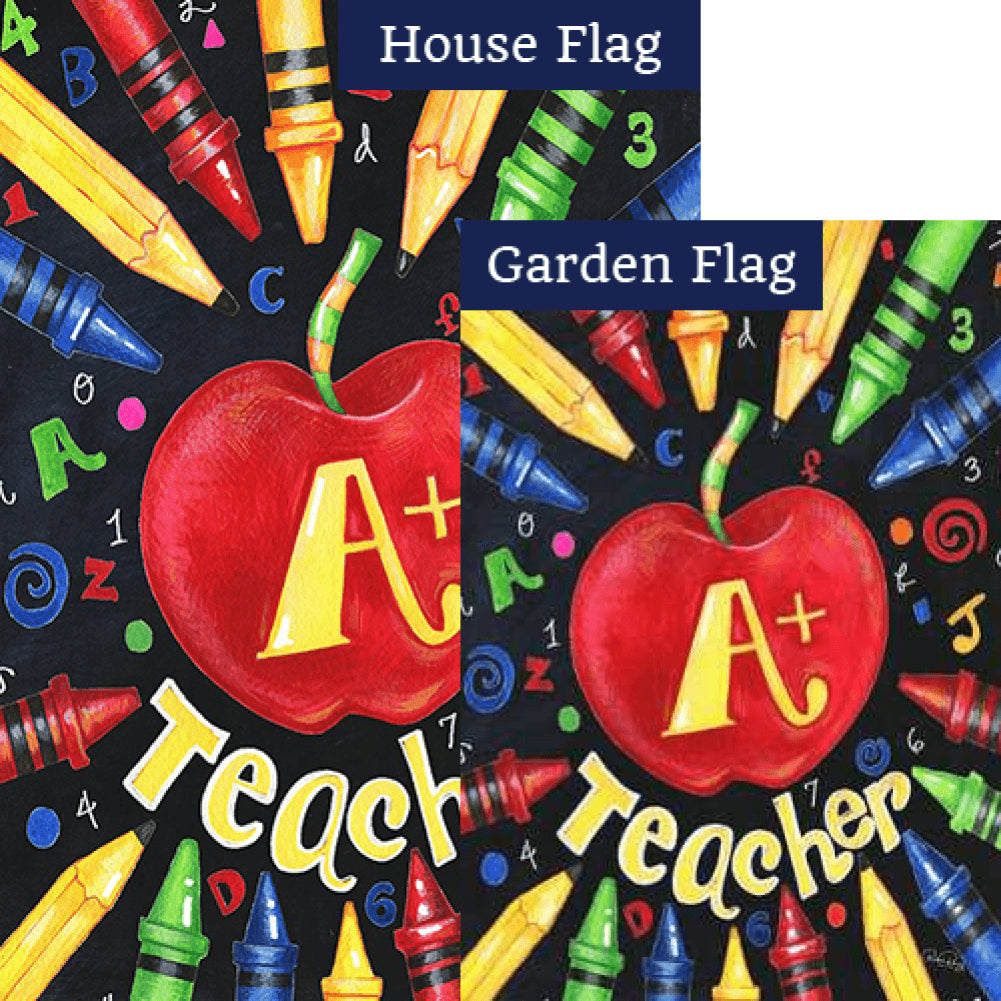 Back To School Teacher Flags Set (2 Pieces)