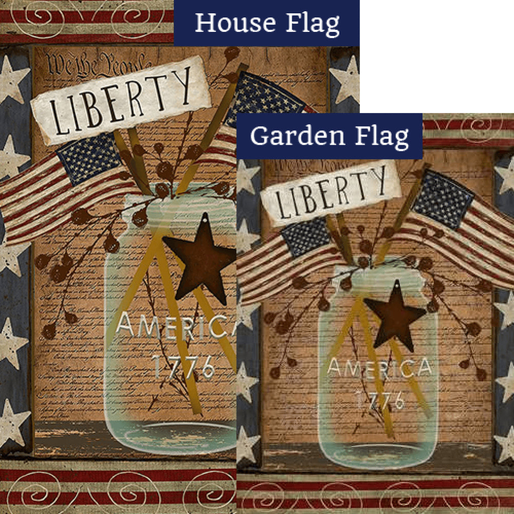 American Liberty Flags Set (2 Pieces)