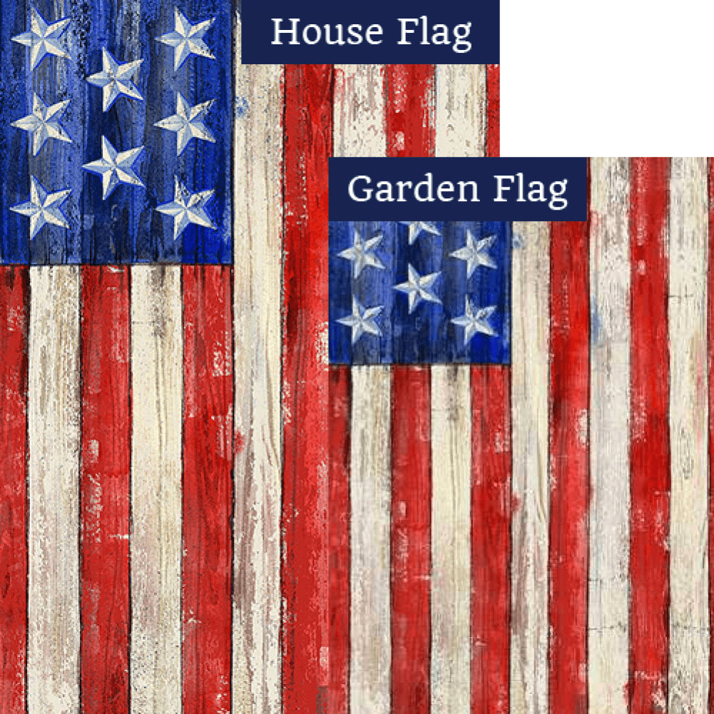 All American Flags Set (2 Pieces)