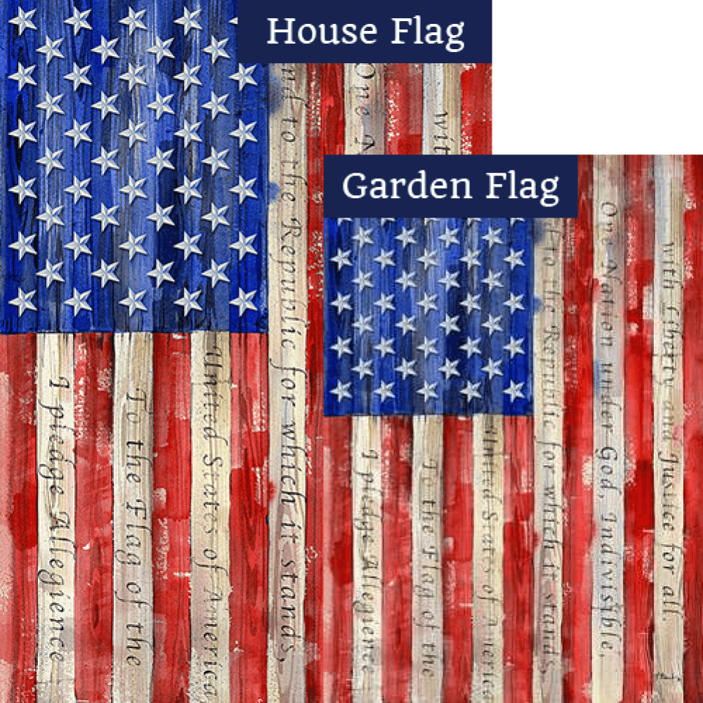 Banner of Allegiance Flags Set (2 Pieces)