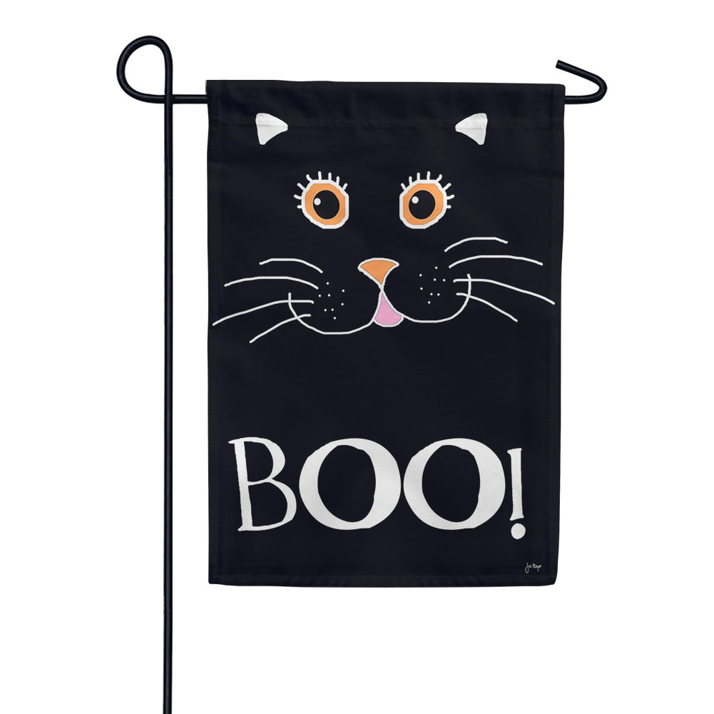 Boo Cat Garden Flag