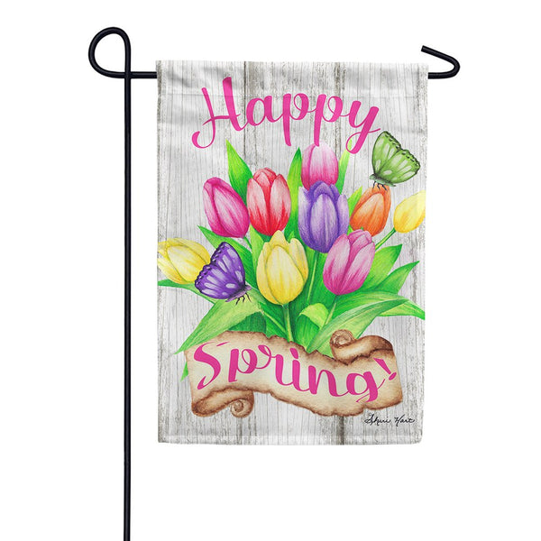 Spring Flower Garden Flags Free Shipping Tagged Toland Flagsrus Org