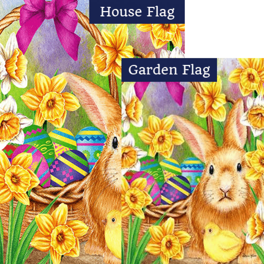 Easter Scene Flags Set (2 Pieces)