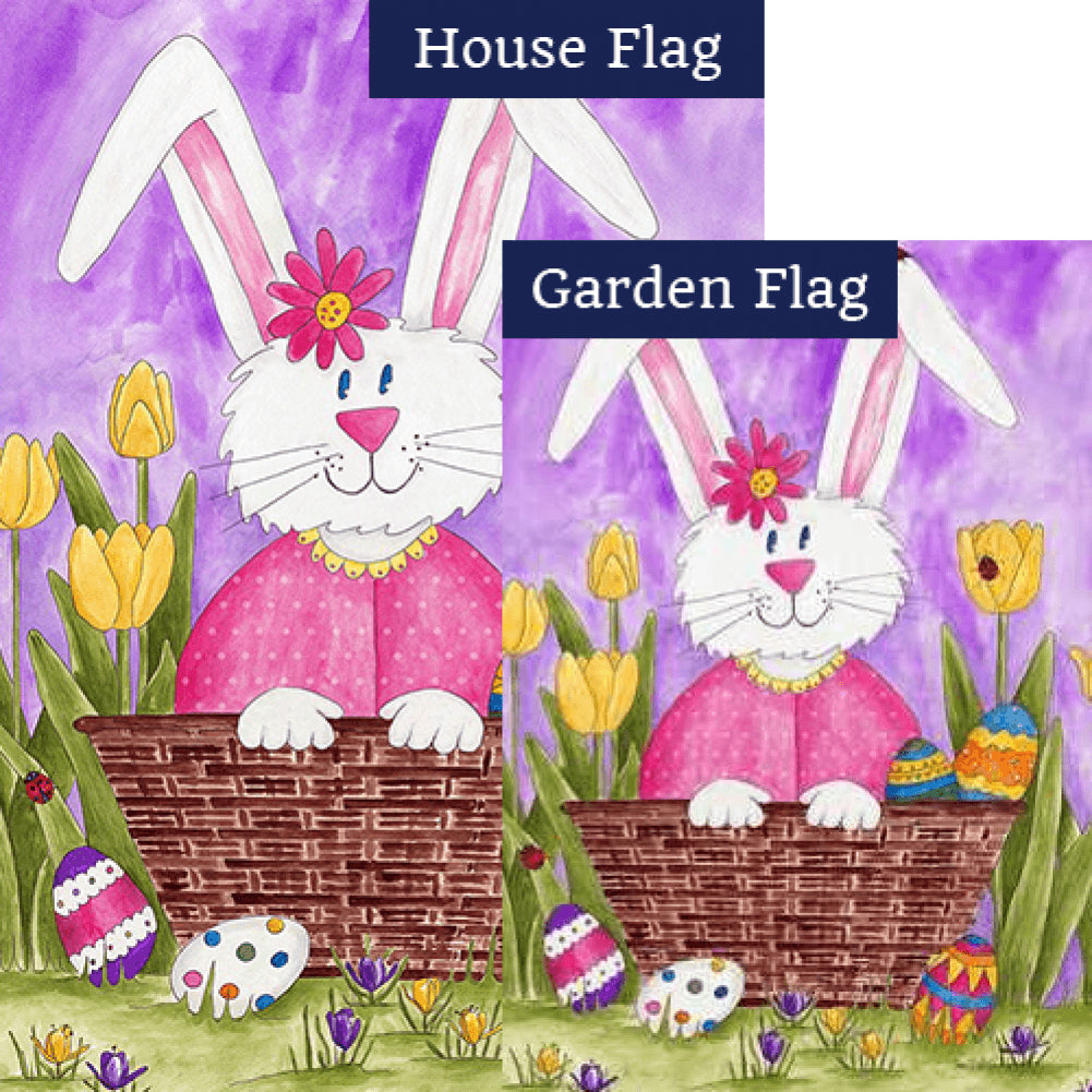 Long Eared Bunny Flags Set (2 Pieces)
