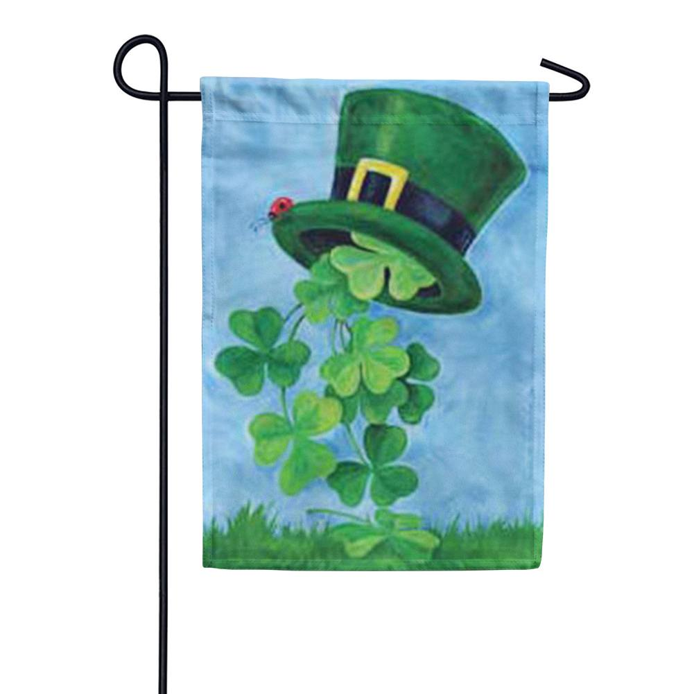 Shamrock Shower St.Patricks's Day Garden Flag