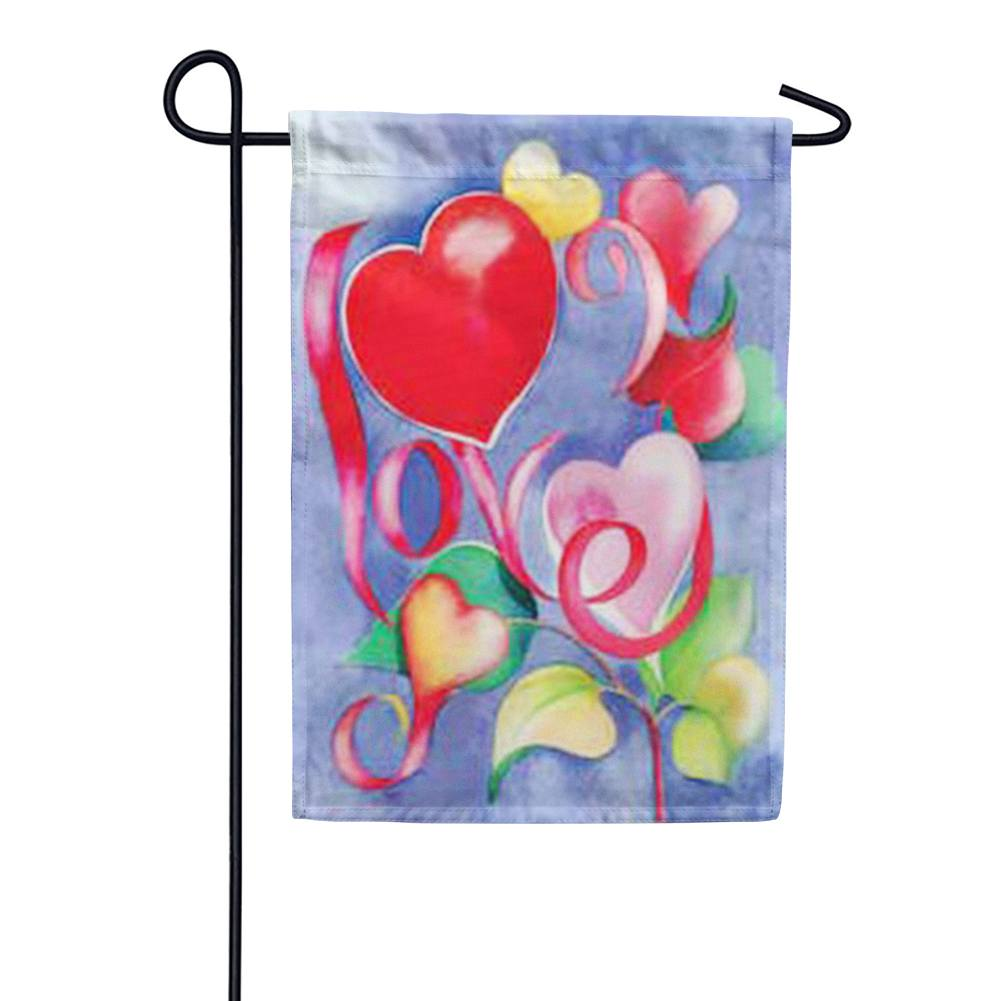 Love Valentine's Day Garden Flag