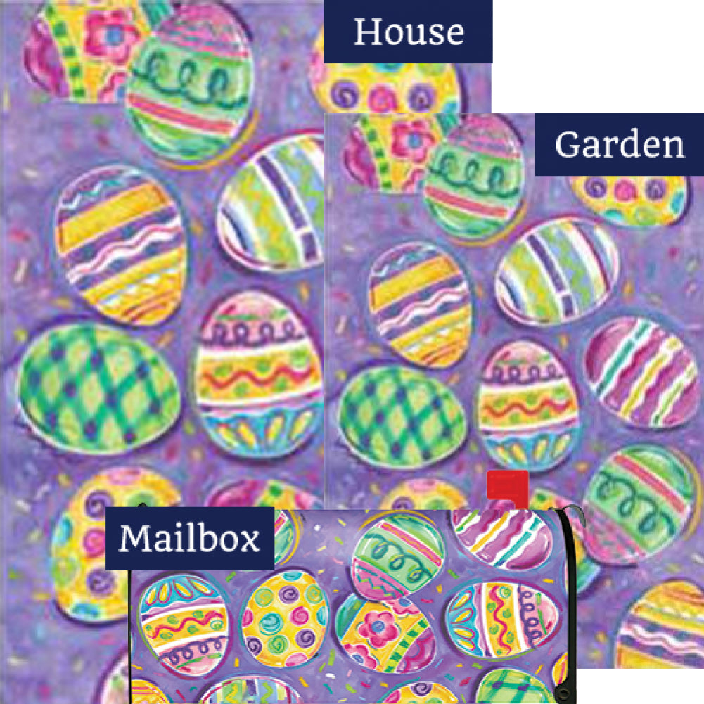 Egg Toss Easter Yard Makeover Set (3 Pieces)