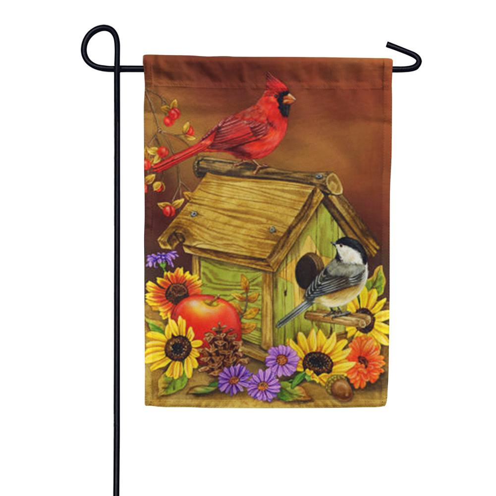 Autumn Melody Garden Flag