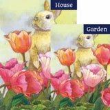 Bunny Tulip Flags Set (2 Pieces)