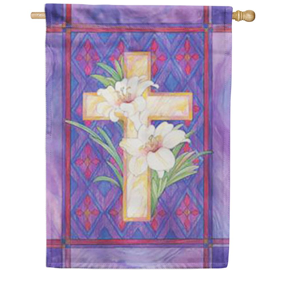 Lily and Cross House Flag