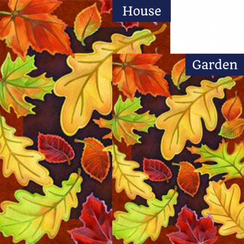 Leafy Leaves Flags Set (2 Pieces)