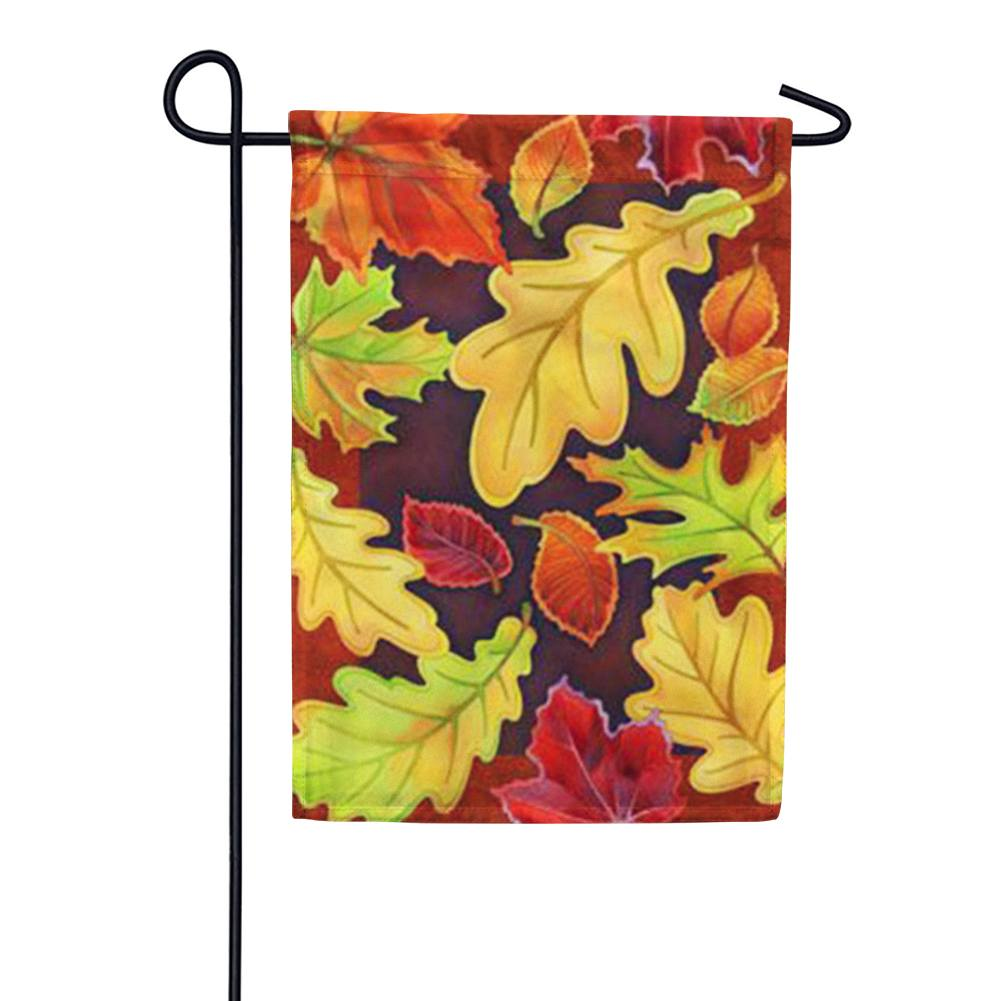 Leafy Leaves Garden Flag