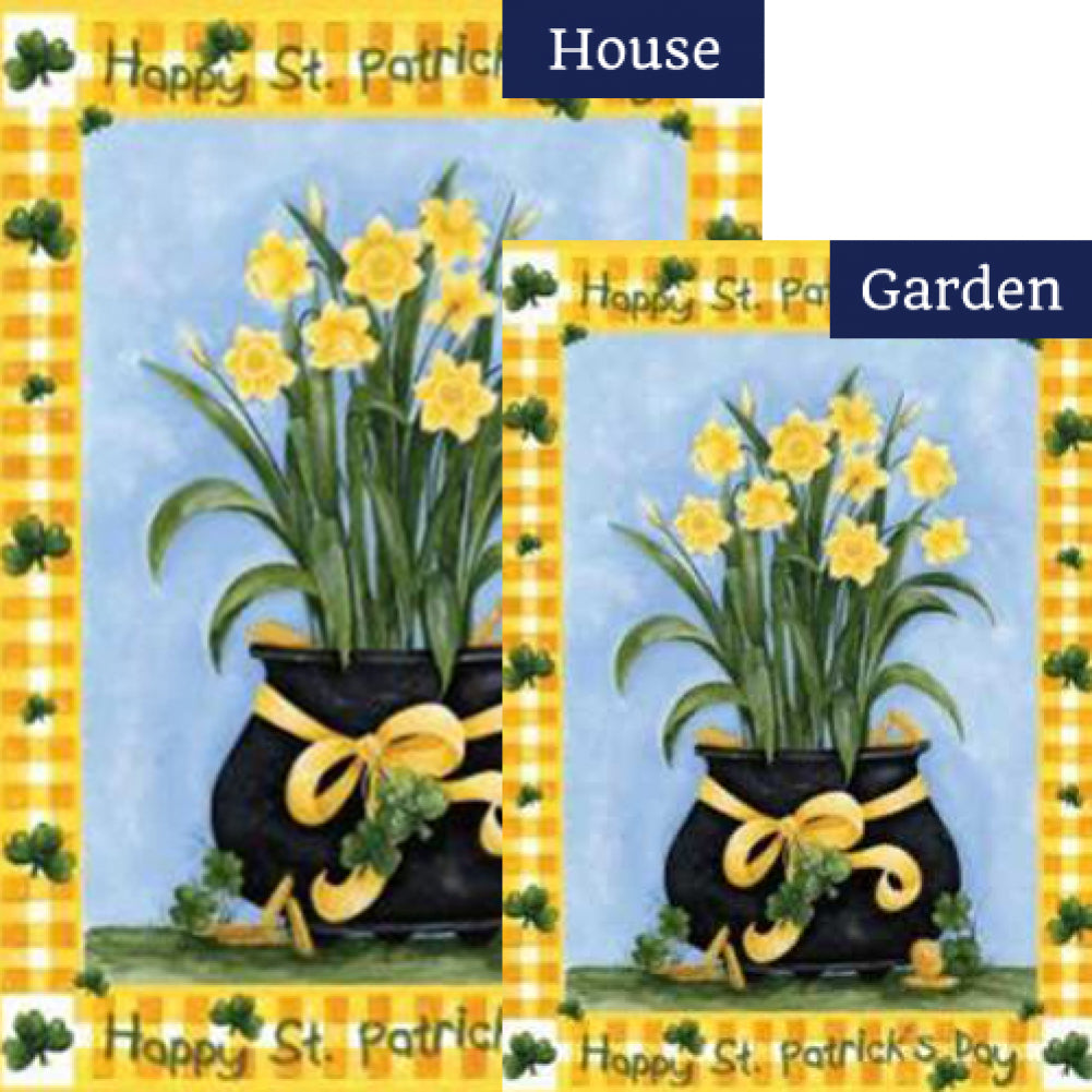 Lucky Daffodils Flags Set (2 Pieces)