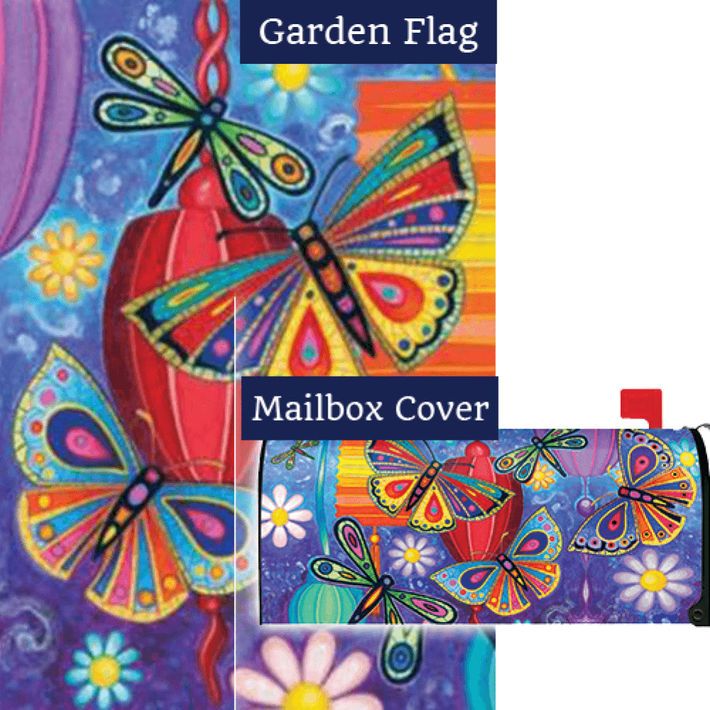 Bright Wings Flag Mailwrap Set (2 Pieces)
