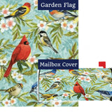 Bird Collage Flag Mailwrap Set (2 Pieces)
