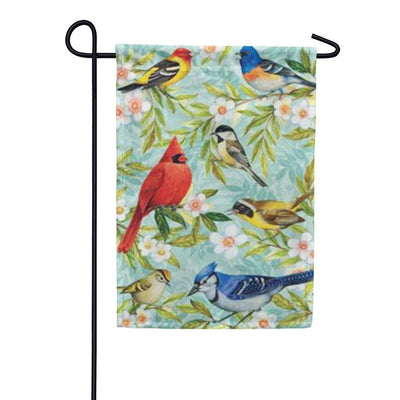 Bird Collage Garden Flag