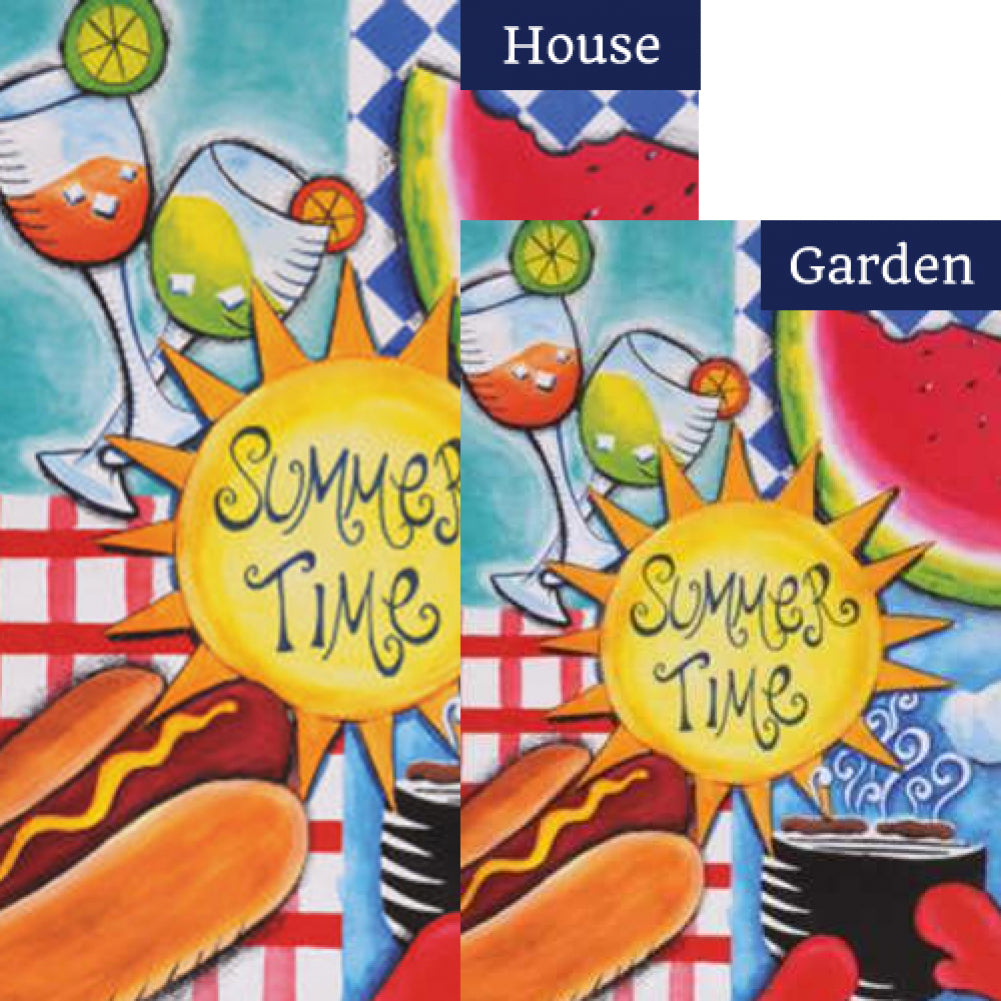 Summer Fun Flags Set (2 Pieces)