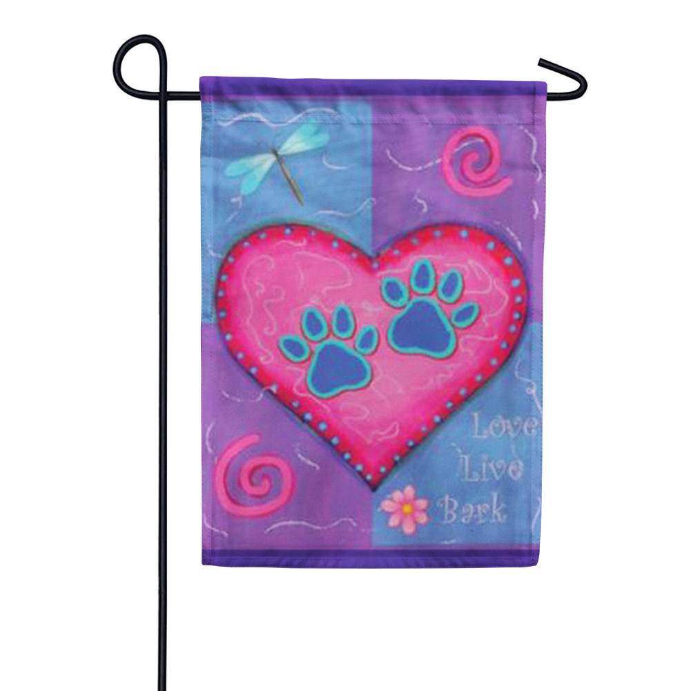 Love Live Bark Garden Flag