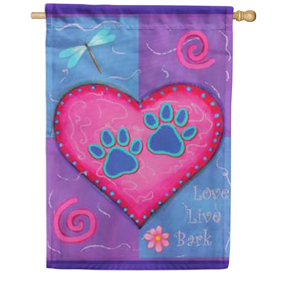 Love Live Bark House Flag