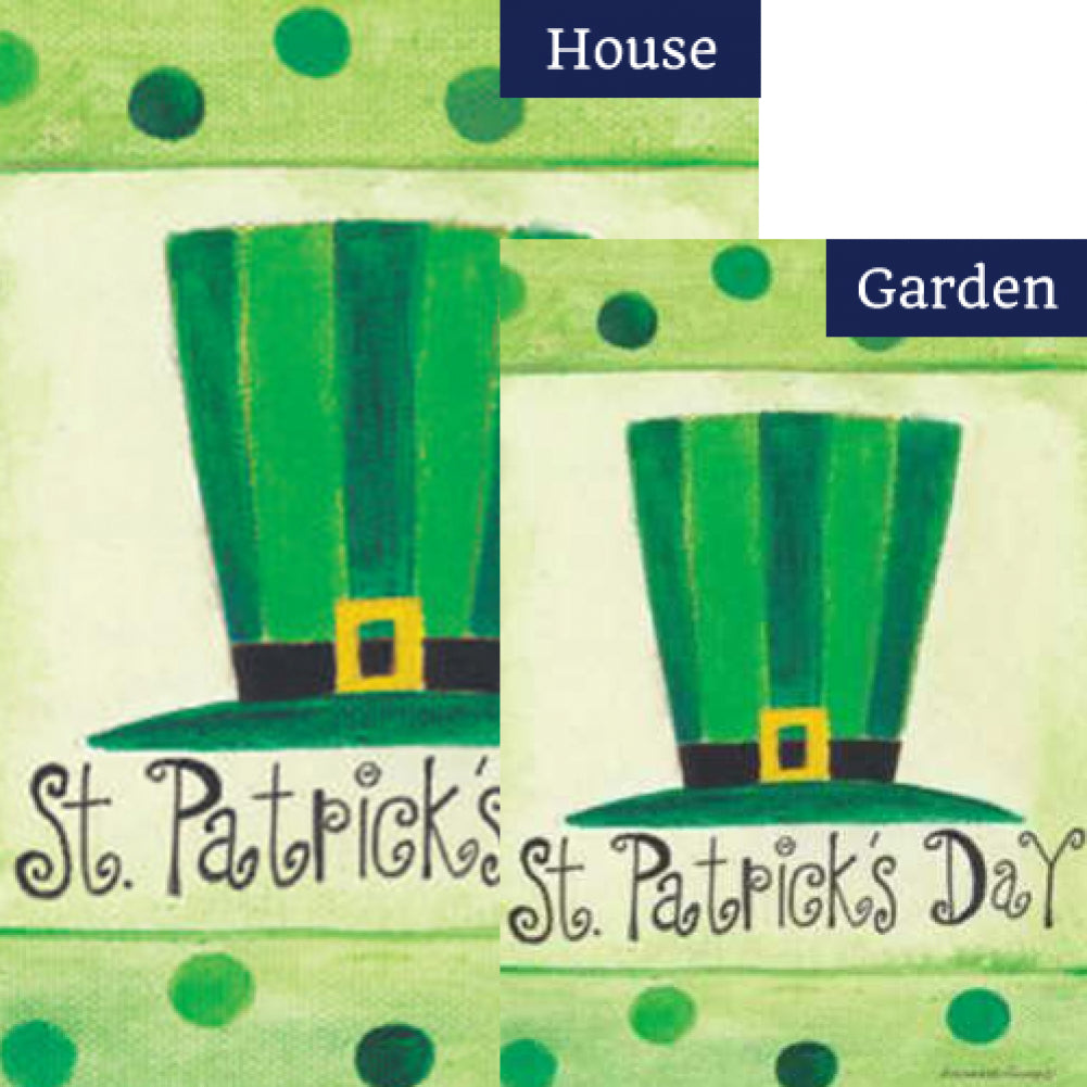 St.Pat's Hat Flags Set (2 Pieces)