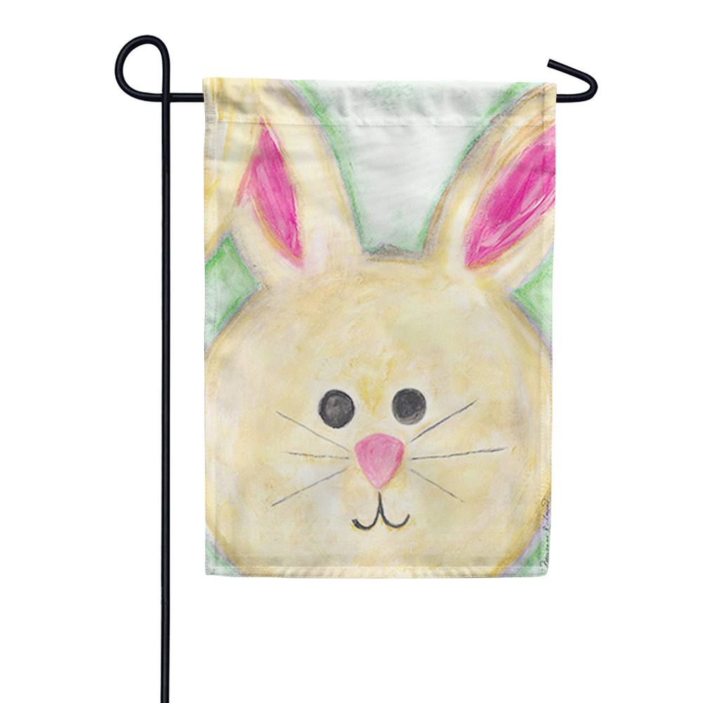 Floppy Eared Bunny Garden Flag
