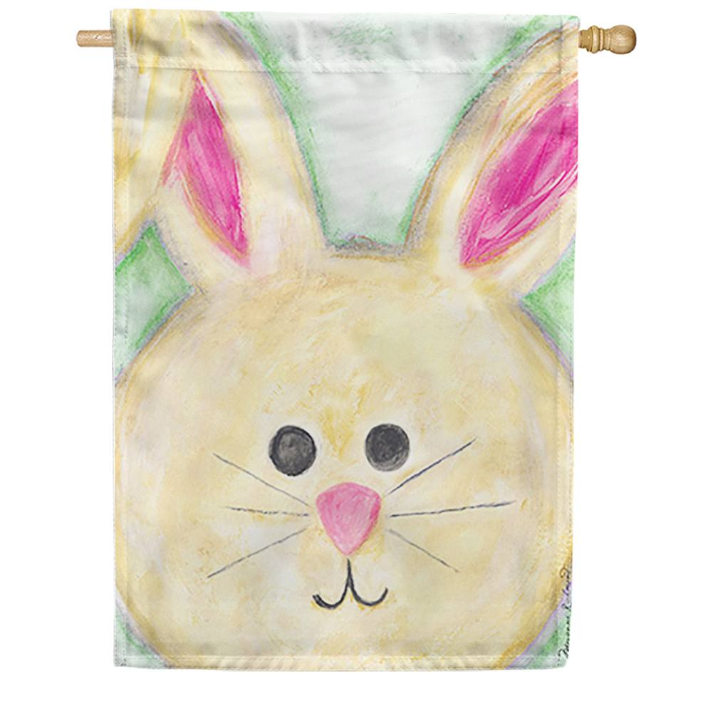 Floppy Eared Bunny House Flag