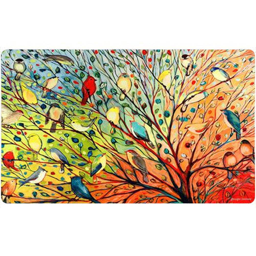 Tree Birds Doormat