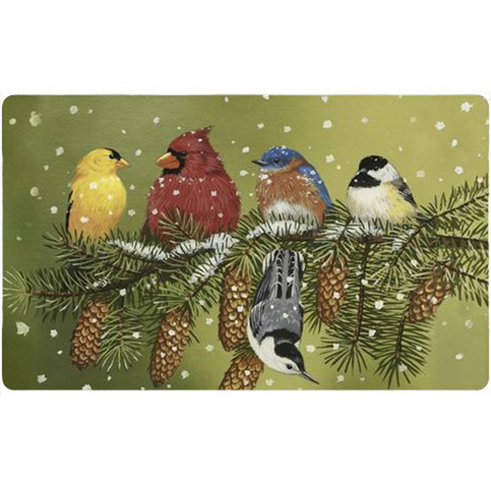 Snowy Friends Doormat