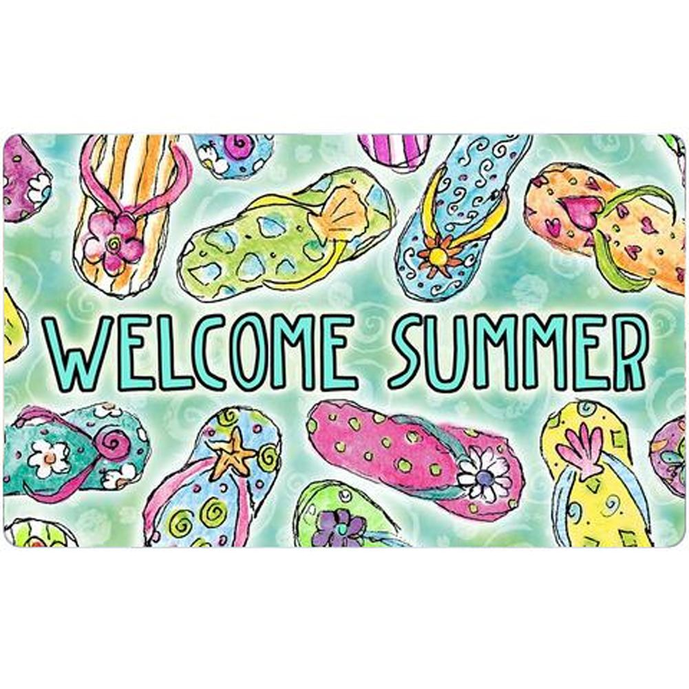 Welcome Summer Sandals Doormat