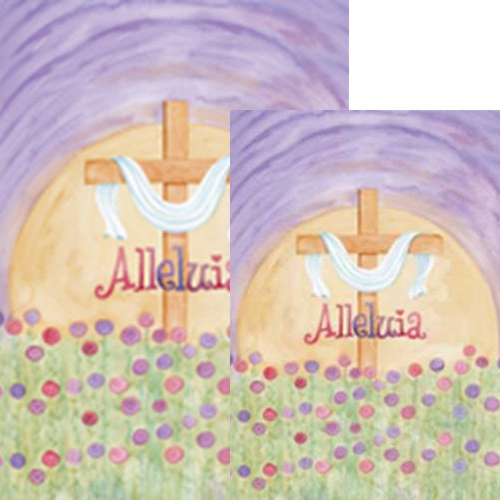 Alleluia Easter Flags Set (2 Pieces)