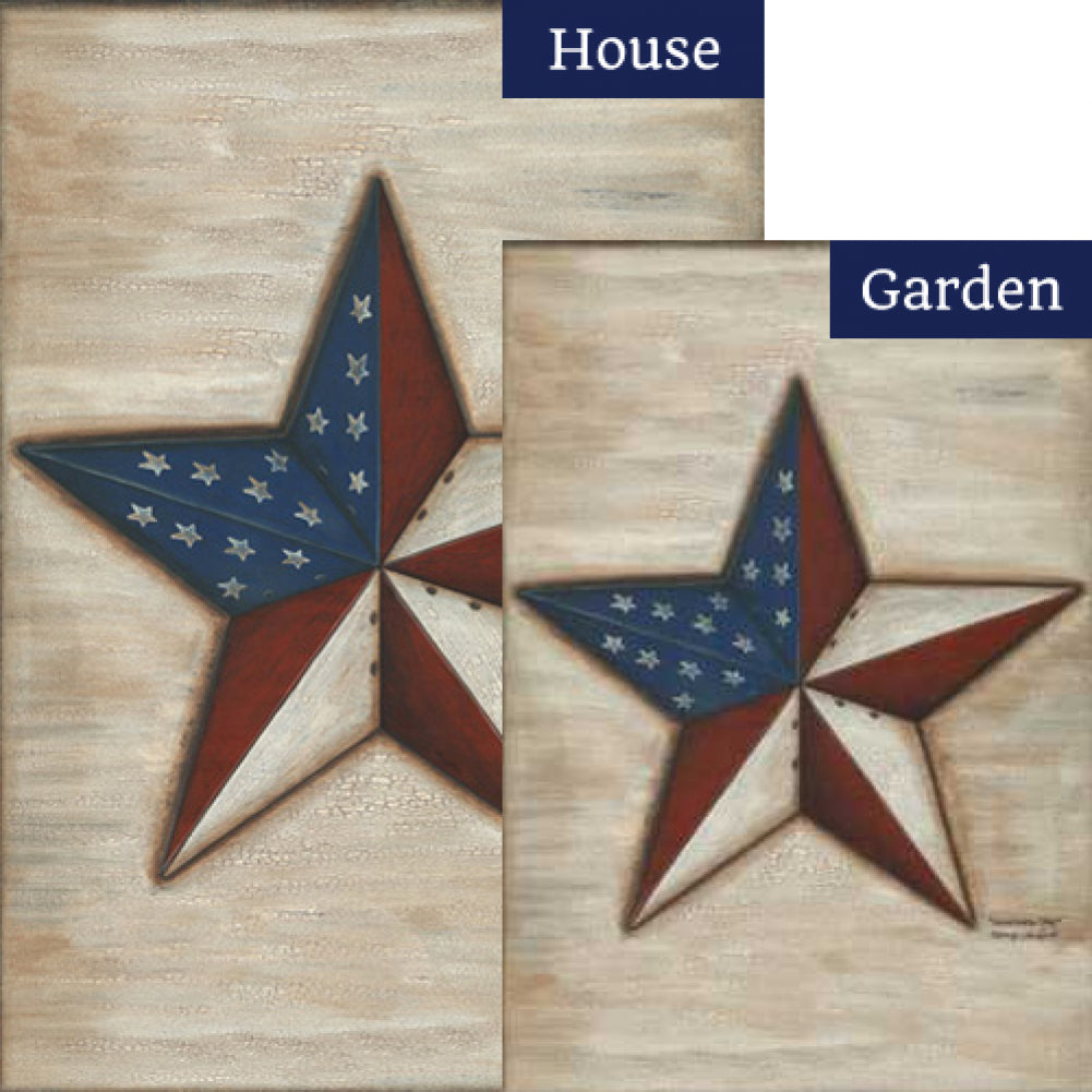 American Star Flags Set (2 Pieces)