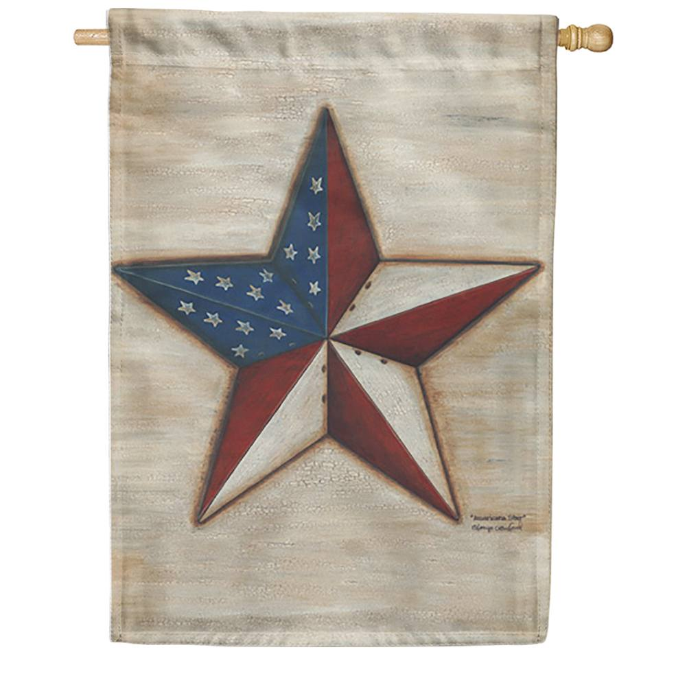 American Star House Flag