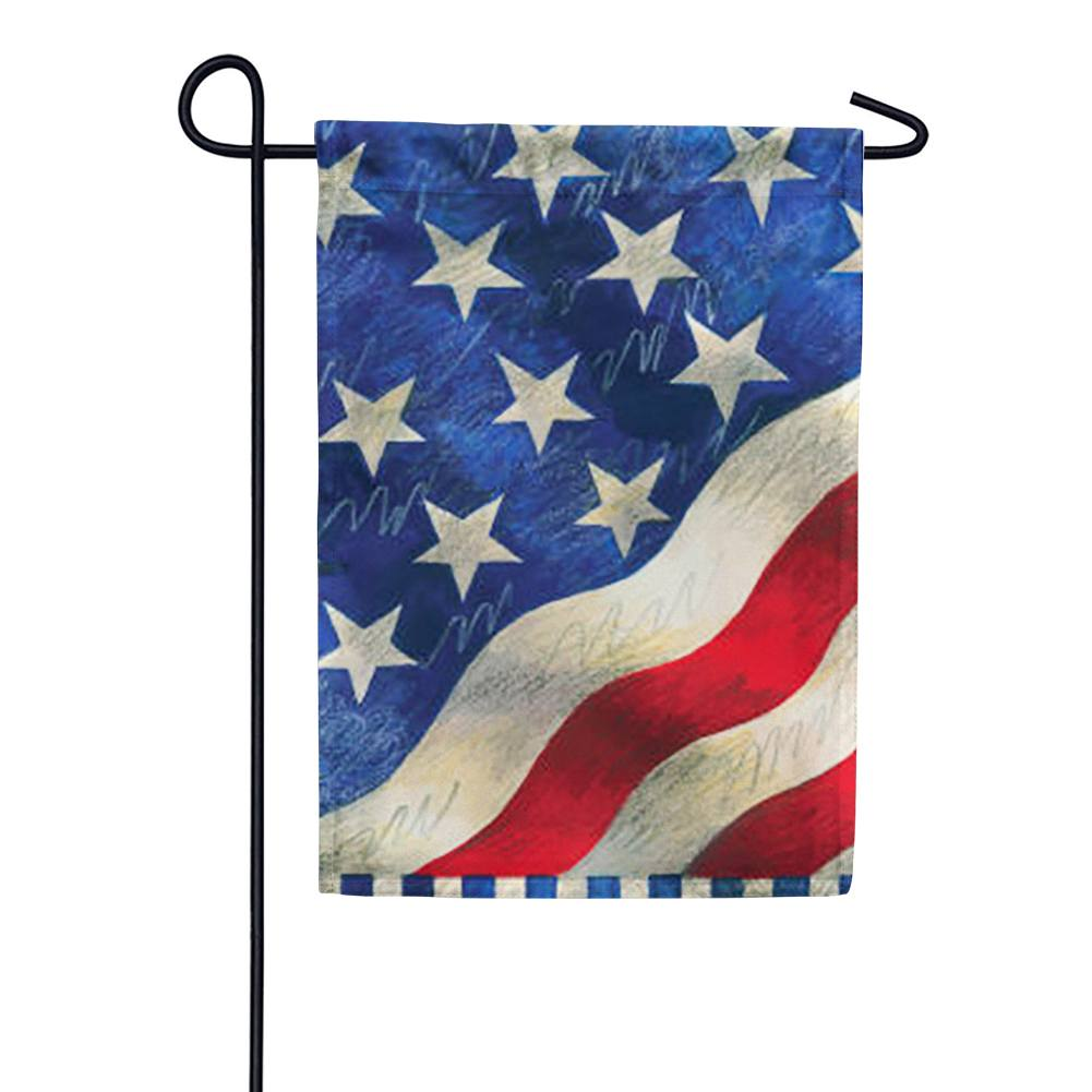 Star Spangled Garden Flag